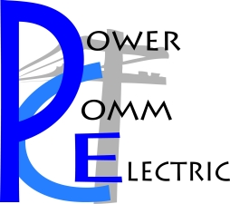PowerComm Electric Logo central square, ny